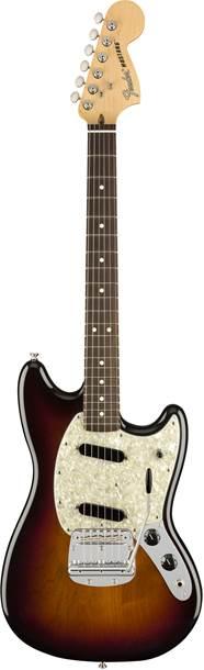 Fender American Performer Mustang 3 Colour Sunburst RW