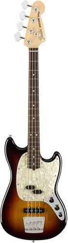 Fender American Performer Mustang Short Scale Bass 3 Colour Sunburst