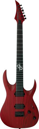 Solar Guitars A2.6TBR Trans Blood Red Matte