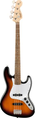 Squier Affinity Jazz Bass Brown Sunburst Laurel Fingerboard