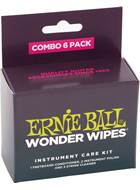 Ernie Ball Wonder Wipes Combo 6-Pack