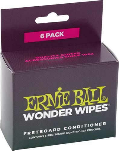 Ernie Ball W/Wipe Fret Conditioner 6-Pack