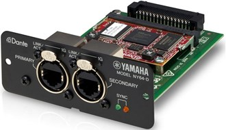 Yamaha CNY64D Dante Expansion Module