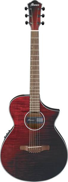 Ibanez AEWC32FM-RSF Red Sunset Fade