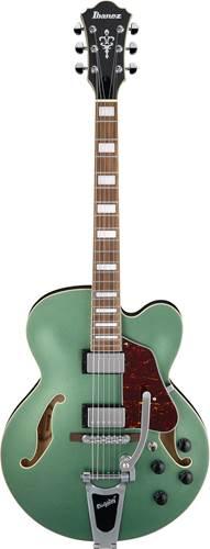Ibanez AFS75T Metallic Green Flat