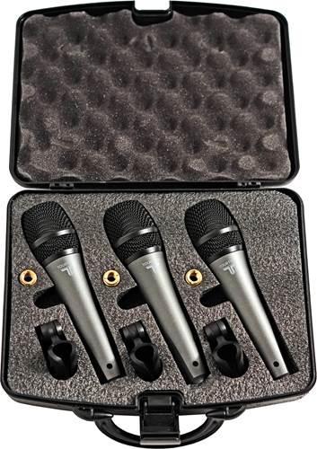 TOURTECH VM-50 Dynamic Microphone 3 Pack