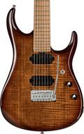 Music Man Sterling JP157 7 String Flame Maple Island Burst