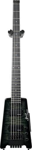Steinberger Spirit XT-25 Quilt Top Standard Bass Outfit (5-String) Trans Black