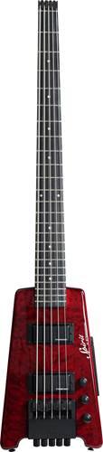 Steinberger Spirit XT-25 Quilt Top Standard Bass Outfit (5-String) Wine Red