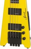 Steinberger Spirit XT-2 Standard Bass Outfit (4-String) Hot Rod Yellow