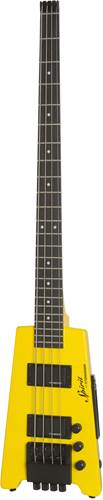 Steinberger Spirit XT-2 Standard Bass Outfit (4-String) Hot Rod Yellow