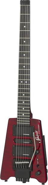 Steinberger Spirit GT-PRO Quilt Top Deluxe Outfit (HB-SC-HB) Wine Red