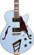 D'Angelico Deluxe SS Stairstep Matte Powder Blue
