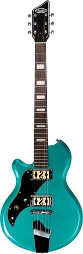 Supro Westbury Turquoise Metallic LH