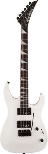 Jackson JS22 Dinky Arch Top Snow White Amaranth Fingerboard