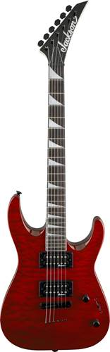 Jackson JS32TQ Dinky Arch Top Transparent Red Quilt AH
