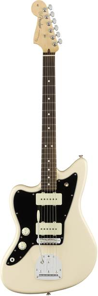 Fender American Pro Jazzmaster Olympic White RW LH