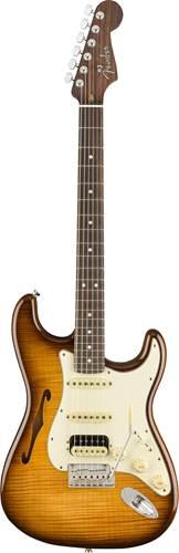 Fender Rarities Stratocaster Thinline HSS Violin Burst