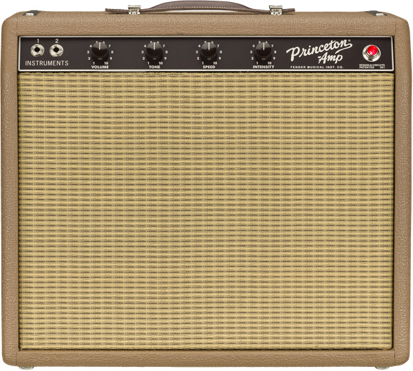 """Genuine FENDER Tan//Brown Wheat Grill Cloth 36/"""" x 36/"""" For /'60s Princeton Amps"""