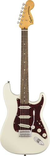 Squier Classic Vibe 70s Stratocaster Olympic White Indian Laurel Fingerboard