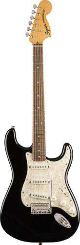 Squier Classic Vibe 70s Stratocaster Black Indian Laurel Fingerboard