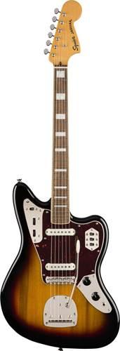 Squier Classic Vibe 70s Jaguar 3 Tone Sunburst IL