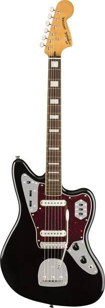 Squier Classic Vibe 70s Jaguar Black Indian Laurel Fingerboard