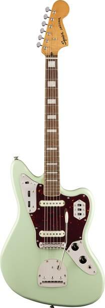 Squier Classic Vibe 70s Jaguar Surf Green Indian Laurel Fingerboard