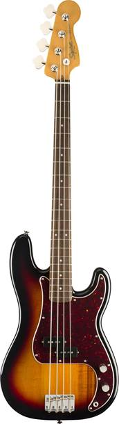 Squier Classic Vibe 60s Precision Bass 3 Tone Sunburst Indian Laurel Fingerboard