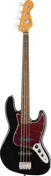 Squier Classic Vibe 60s Jazz Bass Black Indian Laurel Fingerboard