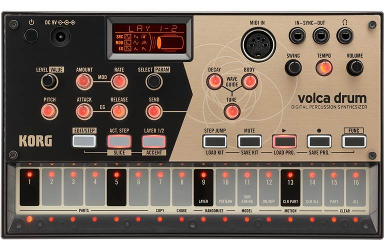 Korg Volca Drum Desktop Percussion Synth