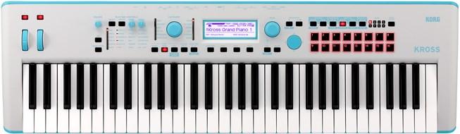 Korg Kross 2 61GB Neon Blue
