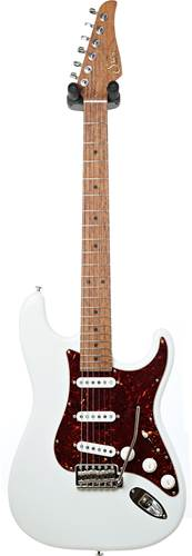 Suhr guitarguitar select #139 Custom Classic Olympic White AAAAA Birdseye Maple Fingerboard