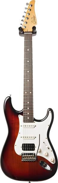 Suhr Classic S Antique 3 Tone Sunburst HSS RW #JS5C8T