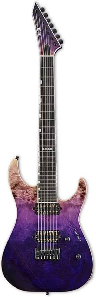 ESP E-II M-II-7 NT HS Purple Natural Fade