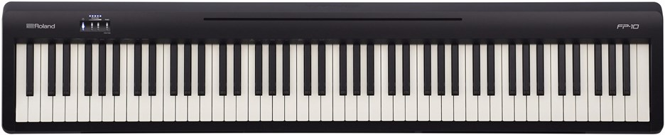 Roland FP-10 Black Digital Piano