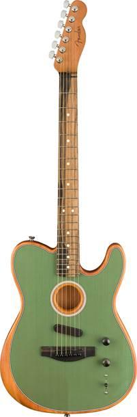 Fender Acoustasonic Telecaster Trans Surf Green