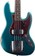 Fender Custom Shop 1960 Relic Jazz Bass Aged Ocean Turquoise