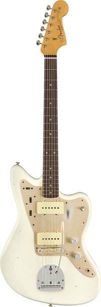Fender Custom Shop Journeyman Relic 1959 Jazzmaster Custom Collection Time Machine Aged Olympic White