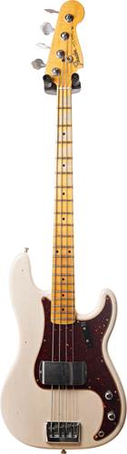 Fender Custom Shop 2019 Postmodern Bass Journeyman Relic Custom Collection Aged White Blonde