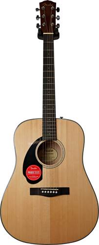 Fender CD-60S LH Natural WN