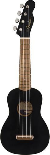 Fender Venice Soprano Ukulele Black WN