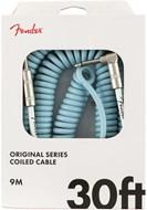 Fender Original Series 30ft Coil Cable, Daphne Blue