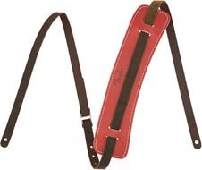 Fender Original Leather Strap, Fiesta Red