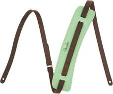 Fender Original Leather Strap, Surf Green