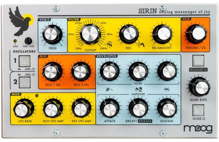 Moog Sirin Analogue Synthesizer