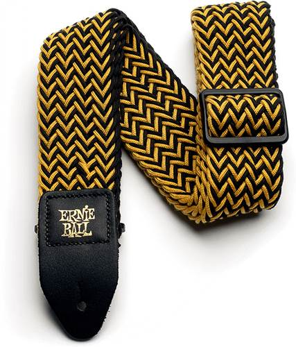 Ernie Ball Yellow Jacket Polyspun Strap