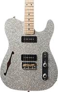 G&L Custom Shop ASAT P90 Silver Metal Flake