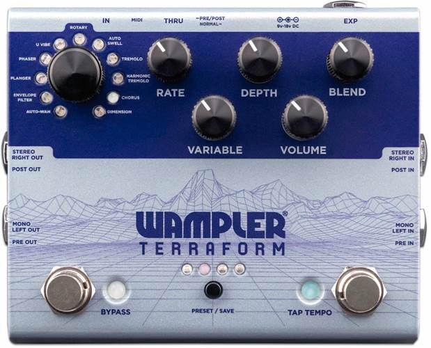 Wampler Terraform Modulation Multi-effect