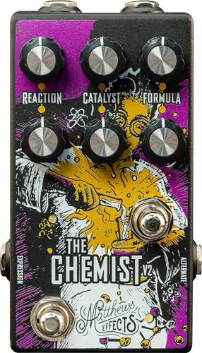 Matthews Effects Chemist Octave, Chorus and Phaser Pedal